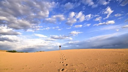 Meet the 24 year old who trekked across the Gobi Desert