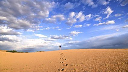Meet the 24 year old who trekked across the Gobi Desert