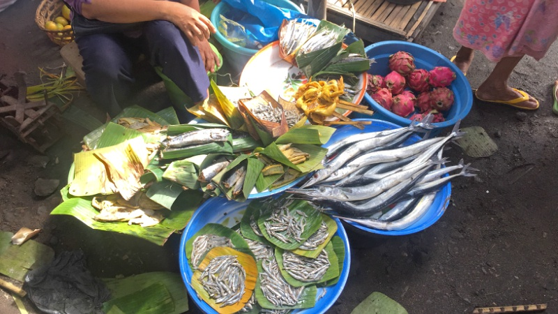 Local food in Lombok, Indonesia