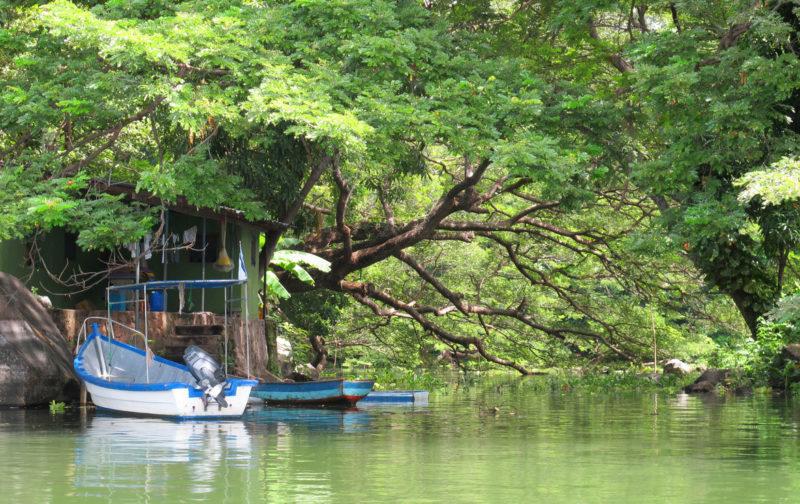 """""""Las Isletas"""" in Lake Nicaragua"""