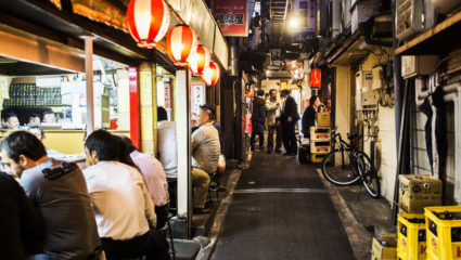 5 traditional alleyways in Tokyo where locals eat and drink