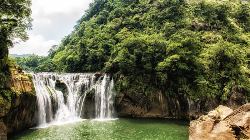 Shifen Waterfall Taiwan