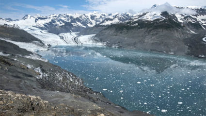 Watch five years' of glacier loss in one minute
