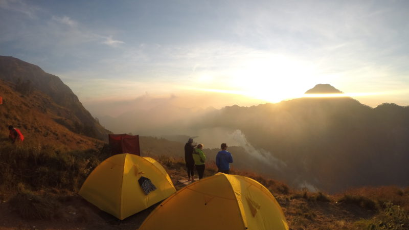 Mt. Rinjani Indonesia
