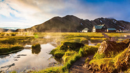 6 hot springs in Iceland much better than the Blue Lagoon