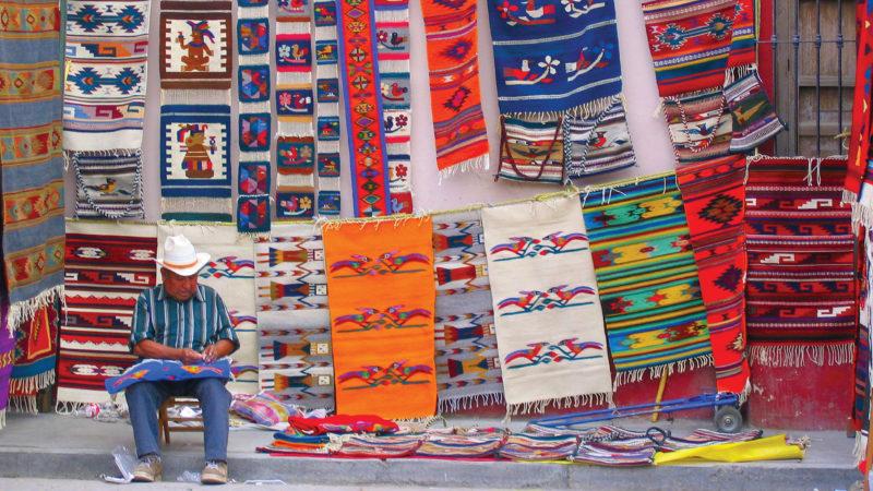 Oaxaca carpets Mexico