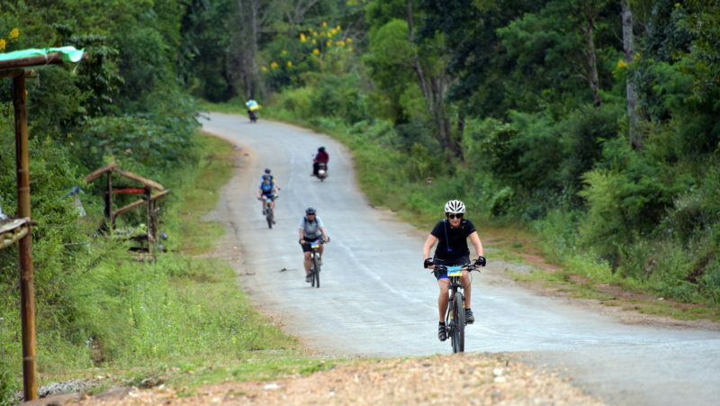 Myanmar cycling