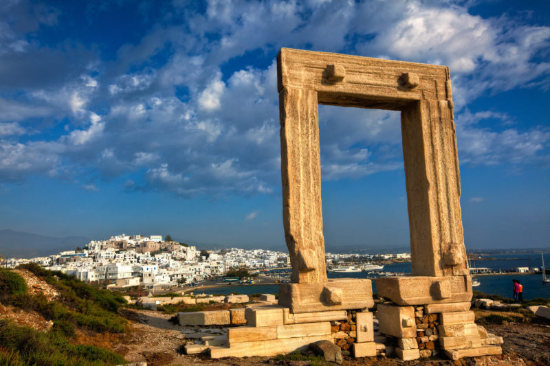 Temple of Apollo Naxos Greece