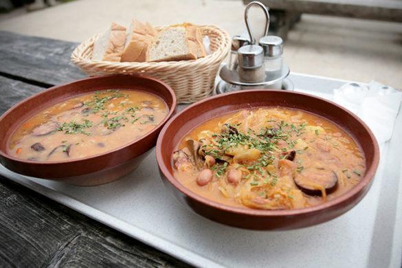 Slovenian barley soup