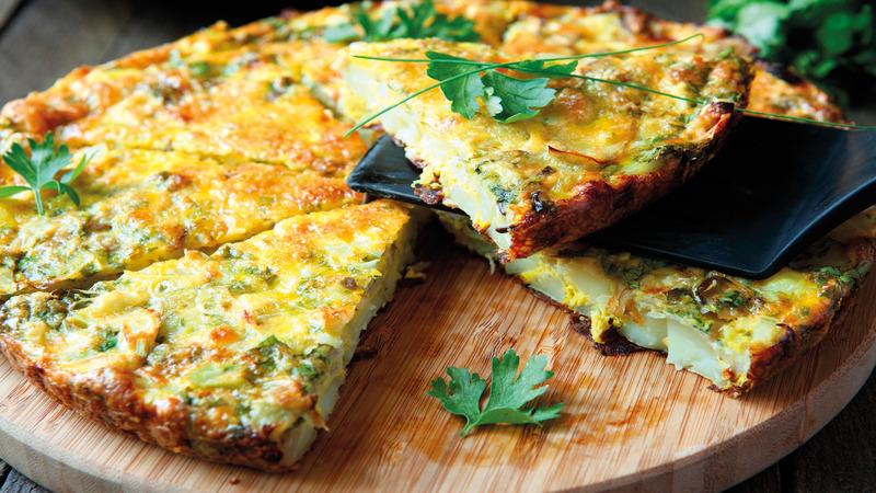 Spanish omelette Madrid