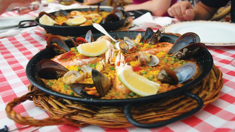 Spanish paella Madrid