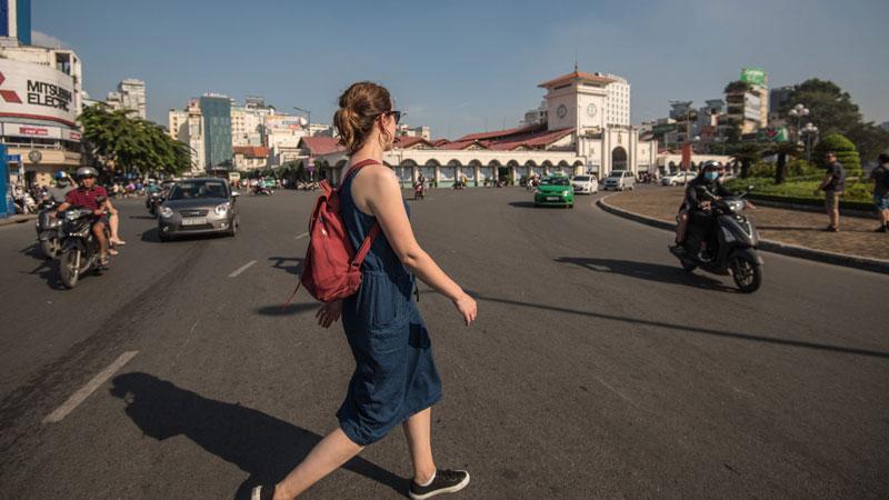 Surviving the roads in Vietnam