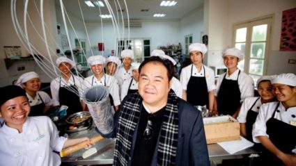Meet the Intrepid leader who dedicated his life to helping disadvantaged youth in Vietnam