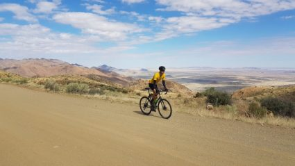 Meet the man cycling 12,000km from Cairo to Cape Town