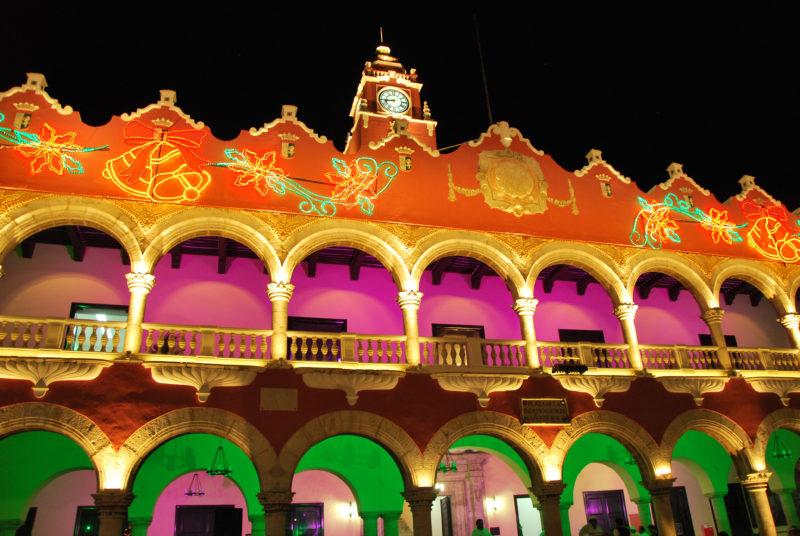 Merida night Mexico