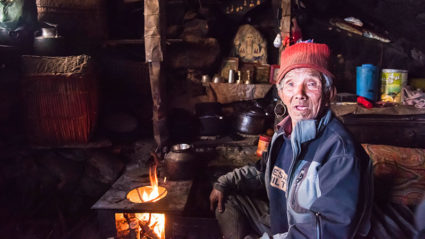 My incredible meeting with a hermit on a Nepal mountain trek