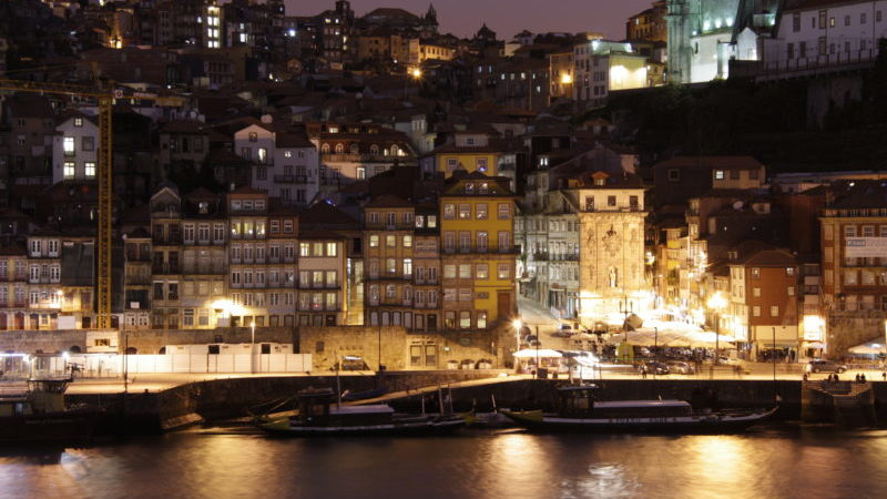 Porto Portugal night