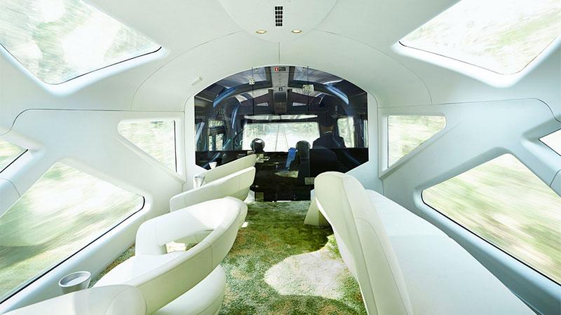 Shiki Shima observation carriage