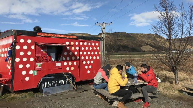Icelandic fish chips truck