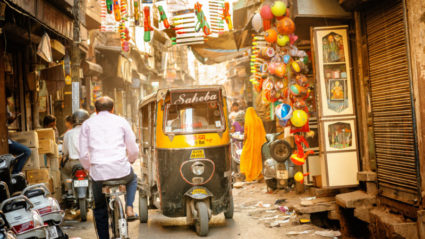 The colorful chaos of stepping off the beaten path in India