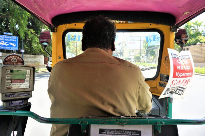 India auto rickshaw