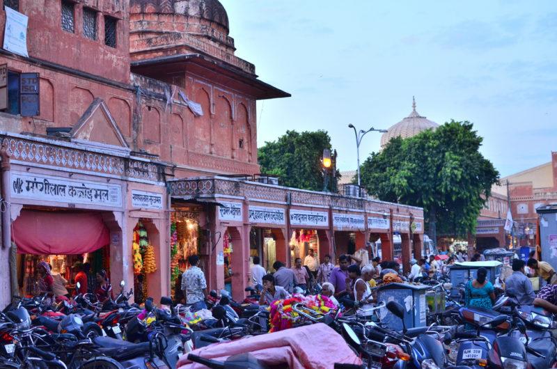 Jaipur bazaar Rajasthan India