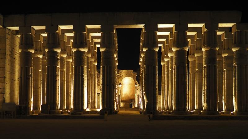 Luxor Temple in Cairo