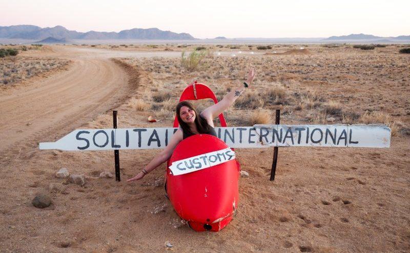 Namibia solo travel