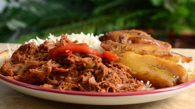 Ropa Vieja Cuba food