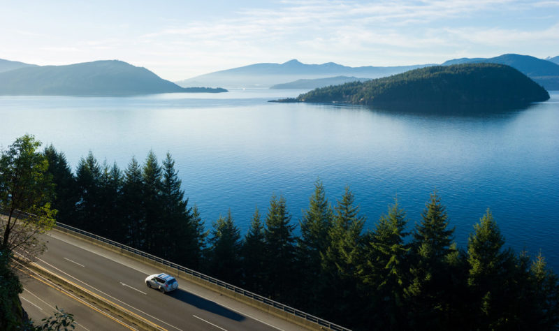 Sea to Sky Highway Canada
