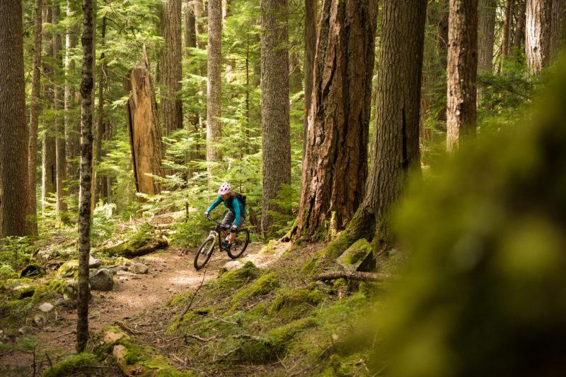 Biking Whistler Canada