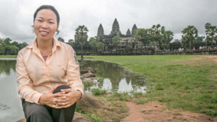 Meet Channa, the Intrepid leader in Cambodia with an incredible story
