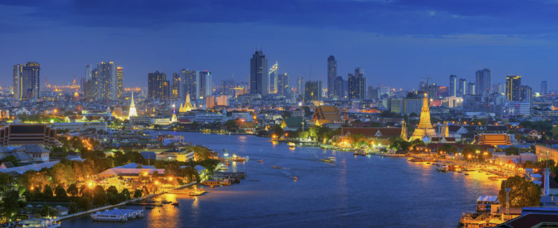 Bangkok night Thailand