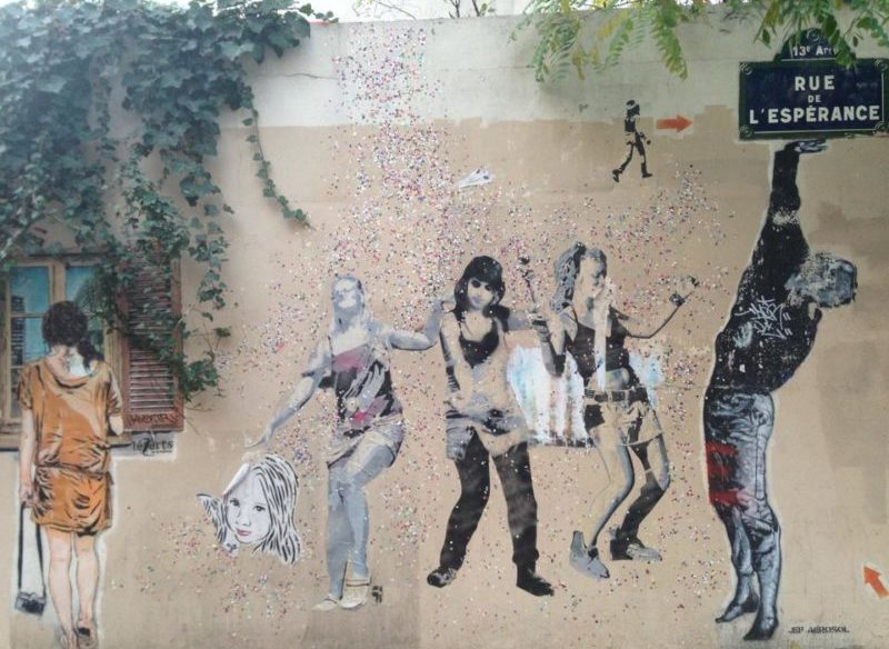 Butte aux Cailles street art Paris