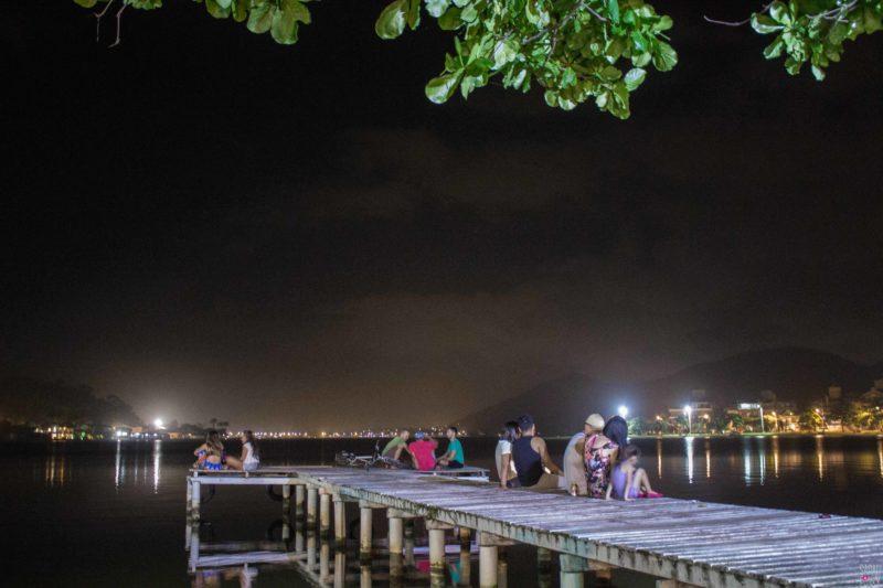 Dock at Lagoa de Conceicao