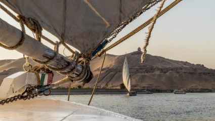The magic of cruising the Nile, when you've dreamed of it for 40 years