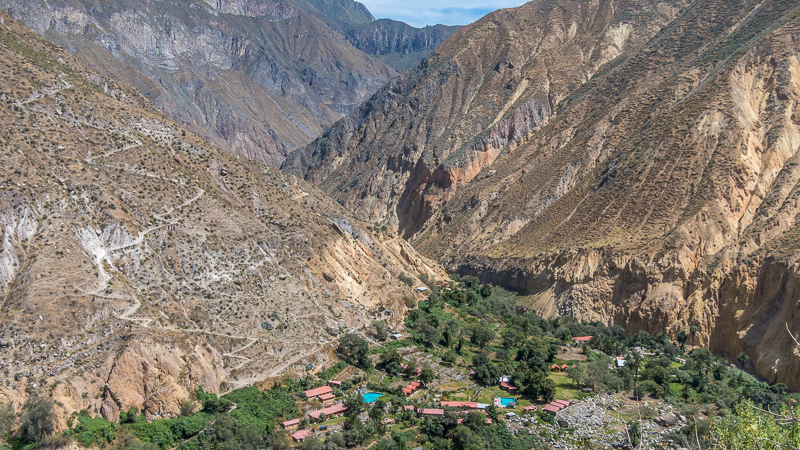 Colca Canyon trekking Peru