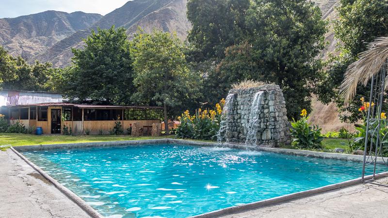 Colca Canyon pool Peru
