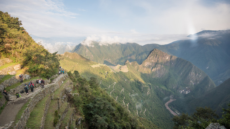 Along the Inca Trail