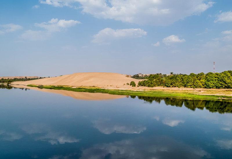 Nile Egypt Sahara