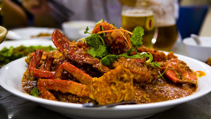 Chilli Crab in Singapore tastes as good as it looks