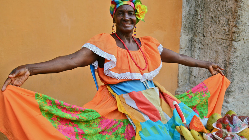 Local Cartagena Colombia