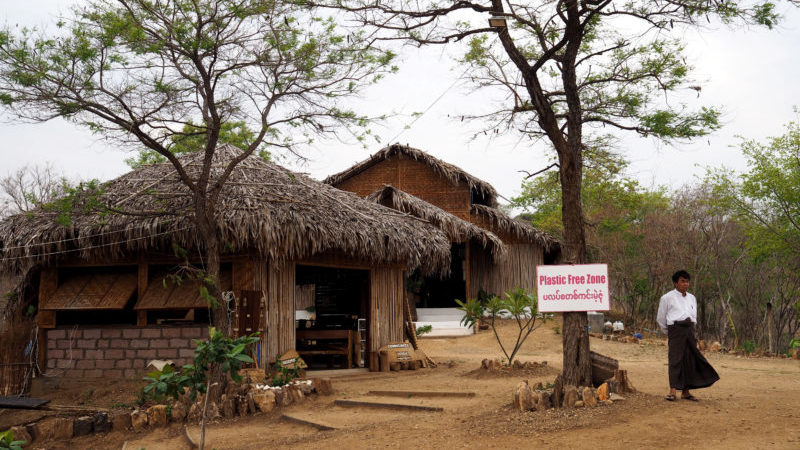 Community-based tourism in Myanmar: the 'plastic-free' zone at the community lodge