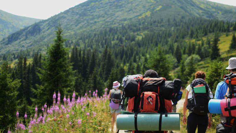 Trekking through the Pyrenees