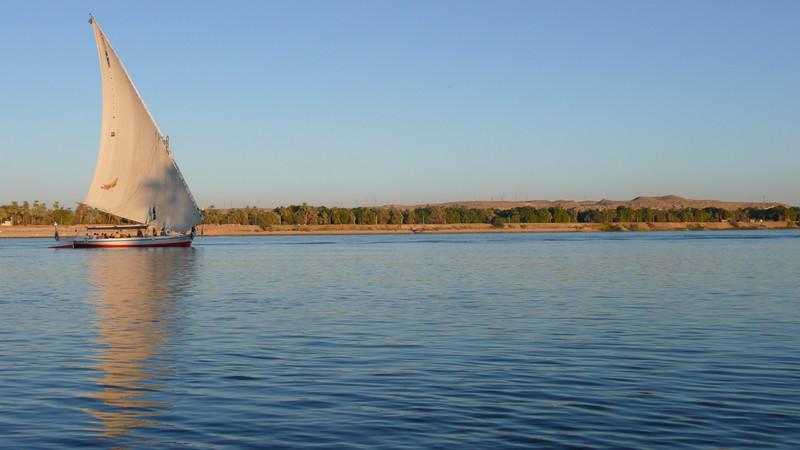 Aswan Nile Egypt