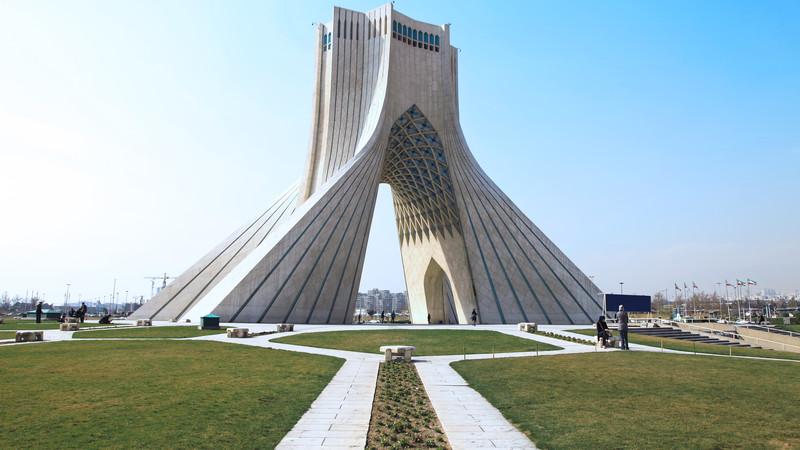 Azadi Square Tehran