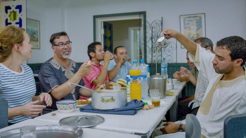 Breaking the fast during Ramadan in Morocco