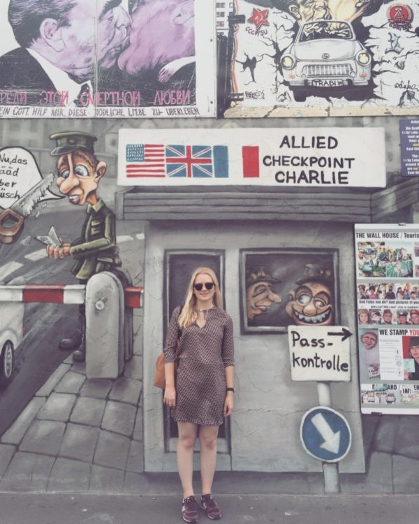 Berlin Checkpoint Charlie Germany