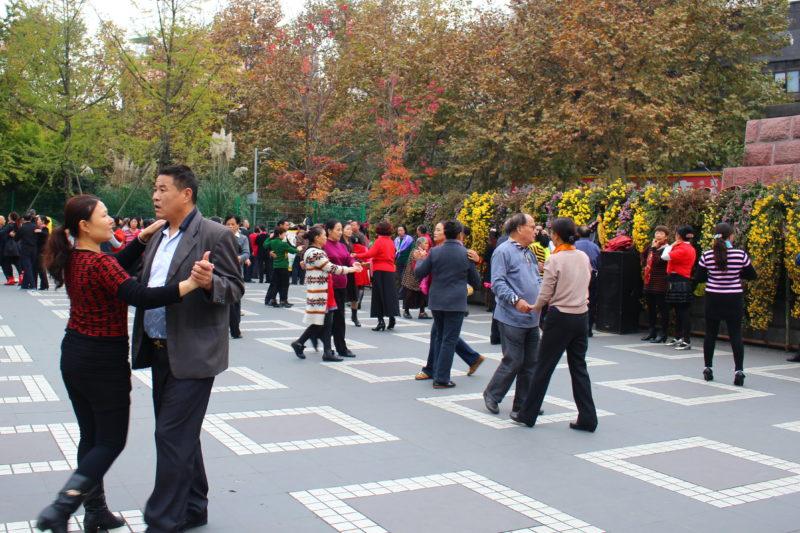 Dancing People's Park, Chengdu