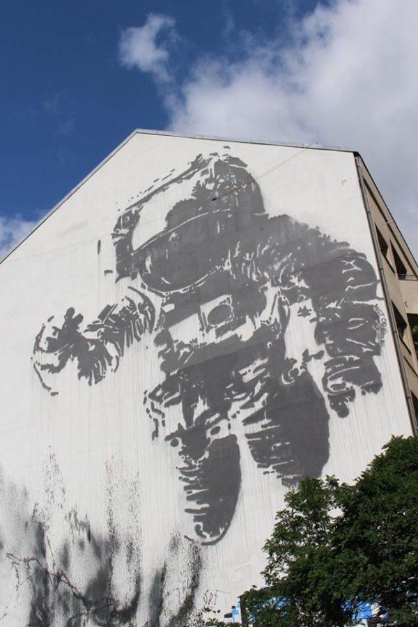 Berlin street art graffiti